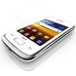 Mobile Samsung S6102 Galaxy DUOS - Dual SIM - White